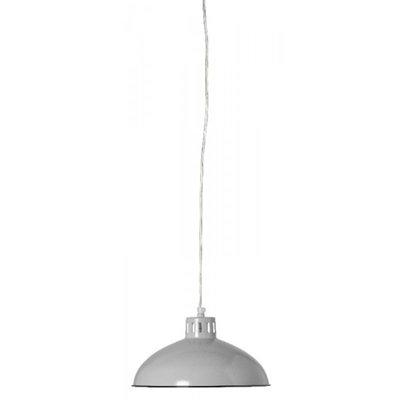 rusken-gra-26cm-taklampa