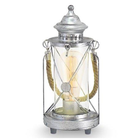 eglo-vintage-lykta-stal-bordlampa