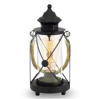 eglo-vintage-lykta-svart-bordlampa